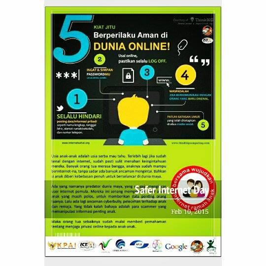 5 Kiat Jitu Berprilaku Dunia Online |Safer Internet Day | SID2015 | Relawan TIK | Bersama Wujudkan Internet Ramah Anak | nchie hanie | Emak2 Bogger