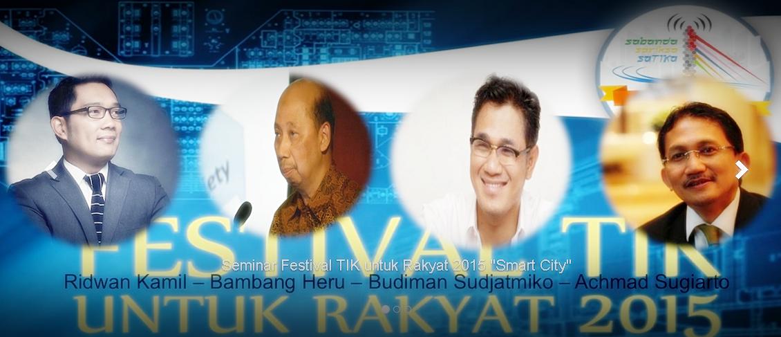 FesTIK 2015 Bandung | Hayu Urang NgeTIK| Pesta Rakyat | Relawan TIK Bandung