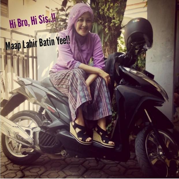 emak2 blogger | blogger bandung | relawan TIK bandung | emak2 Biker