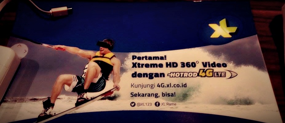 Blogger Bandung | Street Gourmet Bandung | HotRod 4G LTE XL| XL AXIATA TBK | Extreme HD 360