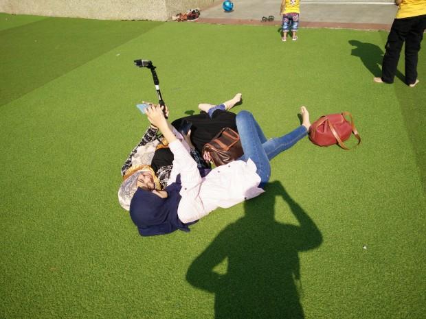 Crazy selfie|nchie hanie