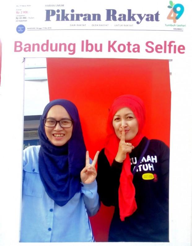 Bandung Ibu Kota Selfie