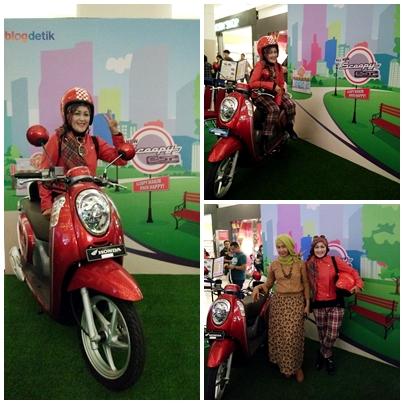 Blogger bicara fashion |honda scoopy esp| Diana rikasari | Blogger Bandung | detik forum