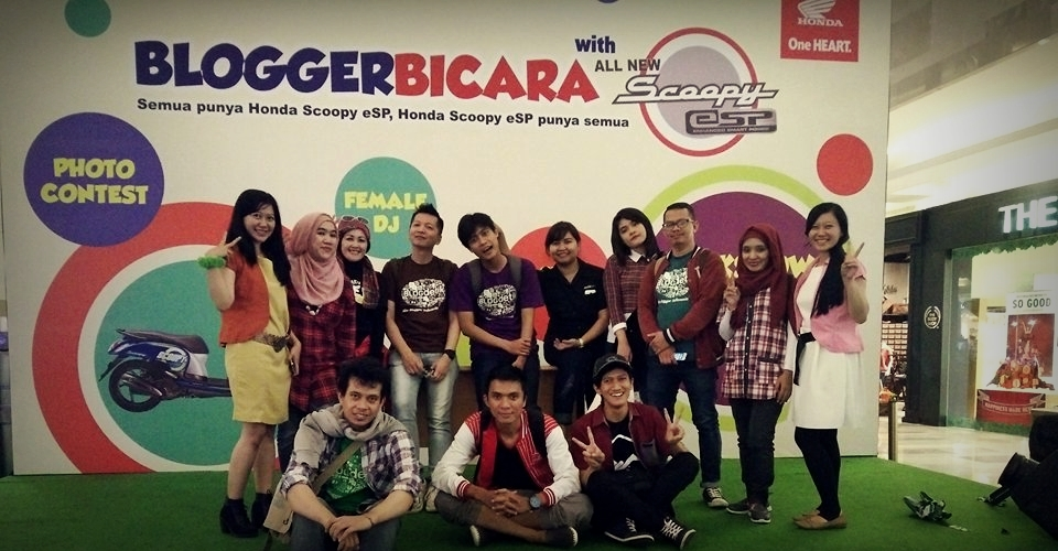 Blogger Bicara fashion | stylish dan sporty | Honda Scoopy eSP | detik forum
