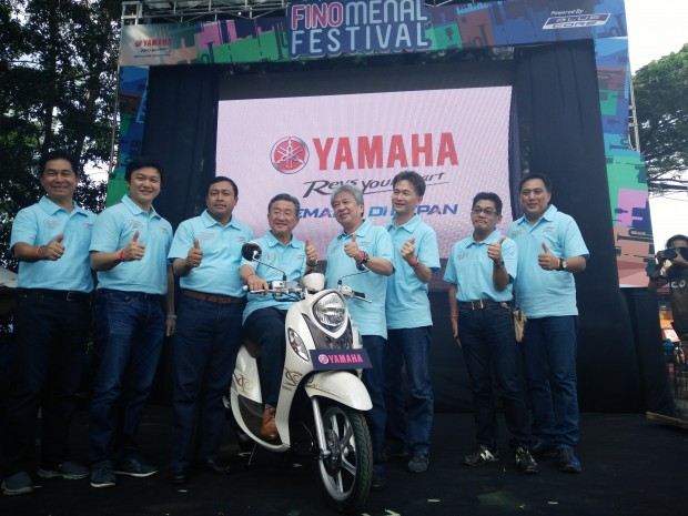 Yamaha New Fino 125 Blue Core | Launching New Fino 125 | Finomenal Festival