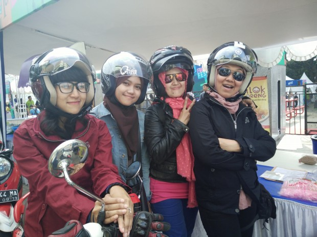Lady Biker |City Touring fino |Yamaha New Fino 125 Blue Core | Launching New Fino 125 | Finomenal Festival