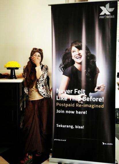 XL Prioritas, Jadi Prioritas, Blogger Bandung