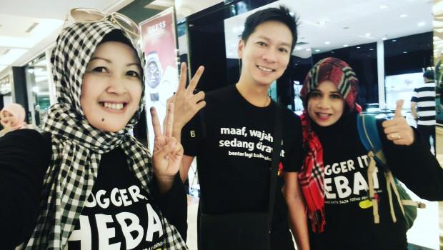 Blogger Bandung | Ur Flavor Market |Trans Studio Mall | Blogger Hebat | Kaos Gurita