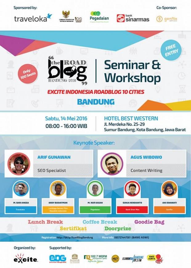 Road Blog Bandung | Best Western La Grande BAndung | Blogger bdg | Excite seminar & workshop