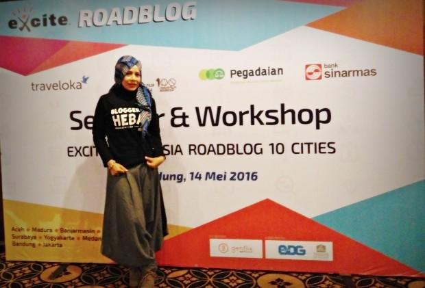 Road Blog Bandung | Best Western La Grande BAndung | Blogger bdg | Excite seminar & workshop | alaika abdullah