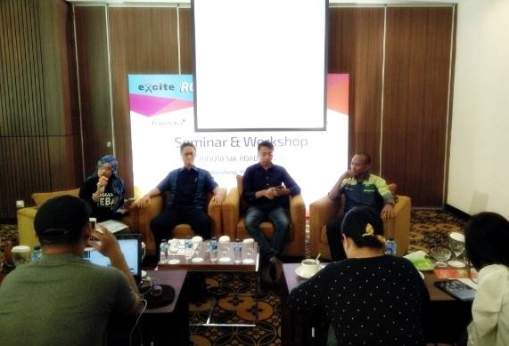 TRAVELOKA |pegadaian| LSF|Road Blog Bandung | Best Western La Grande BAndung | Blogger bdg | Excite seminar & workshop