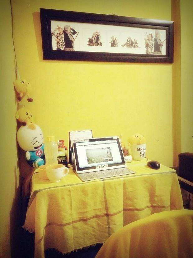 ruang santai | ruang kerja | nchiehanie