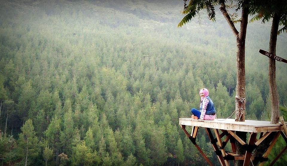 The Lodge Maribaya | Tempat camping di Bandung | Tempat wisata di lembang | nchiehanie | sky tree