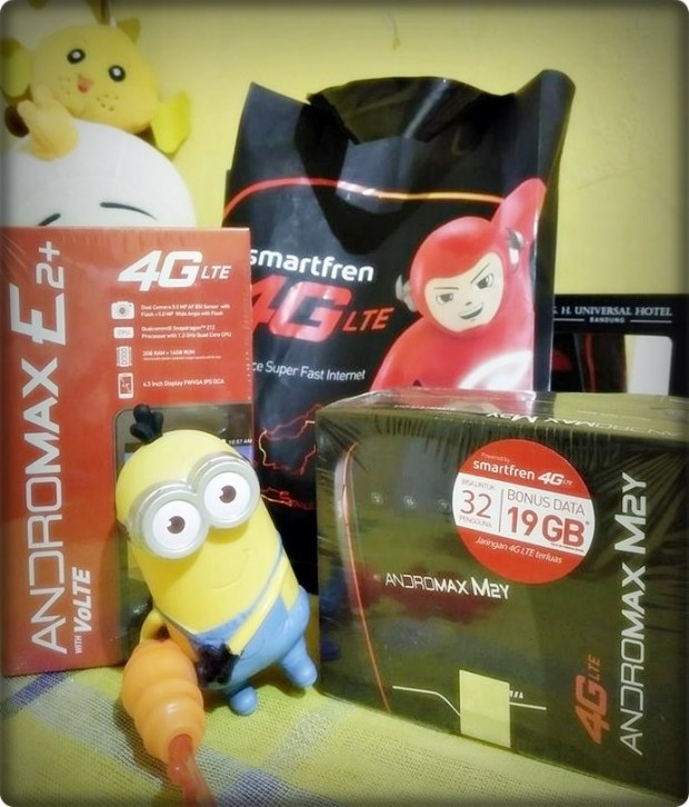 Media Update Smartfren BAndung | Andromax E2+ |Andromax A |Andromax M2Y |Blogger BDG | Nchie Hanie