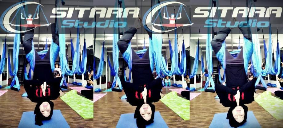 tempat yoga di bandung| sitara studio |holis regency c.51 |aerial yoga | blogger bandung