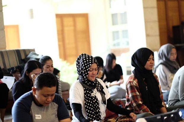 Adjie Silarus | Inner Peace Session |Berdamai dengan diri sendiri | Blogger Bandung |sejenak hening | selaras guest house