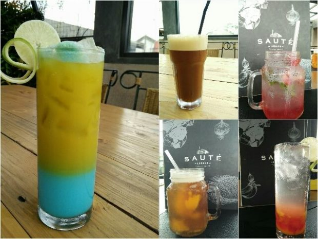 saute family resto | blogger bandung | menu minuman baru saute