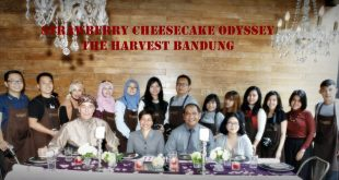 the Harvest bandung | strawberry cheesecake odyssey | nchie hanie | tour kitchen to kitchen | blogger bandung