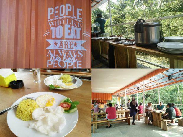 HAU Citumang Eco Lodges, Penginapan unik berkonsep kontainer lokasi di pinggir sungai citumang. Pangandaran, Indonesia