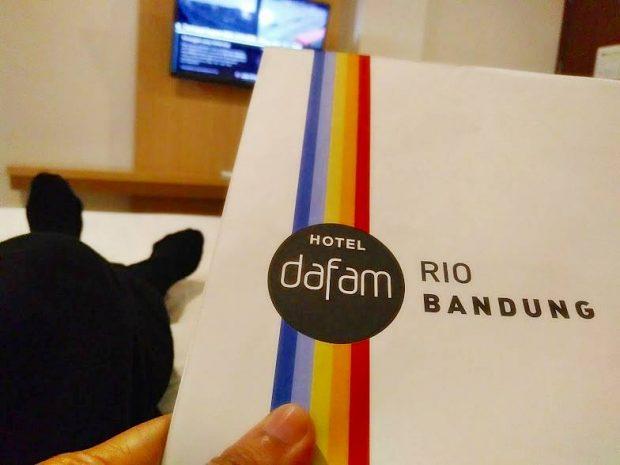 Fun Family Blogger | Hotel Dafam Rio Bandung | Hotel di Jalan Riau| DHM Asosiates | Pasar Baru Square Hotel | De'Rain Boutique Hotel | Blogger BDG | Nchie Hanie