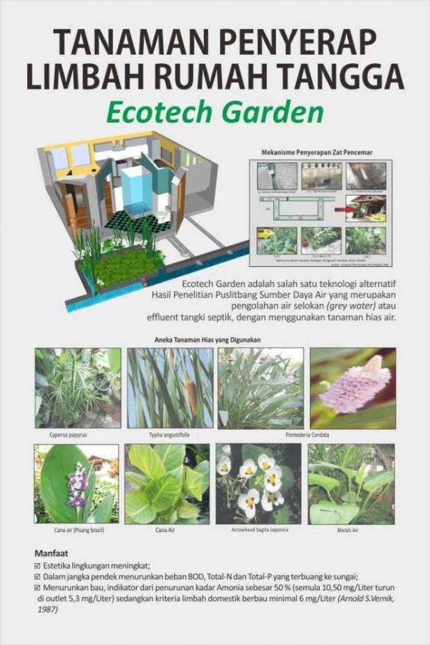 Ecotech Garden | Balitbang PUPR | ECOTECH GARDEN SOLUSI PENGOLAHAN GREY WATER|