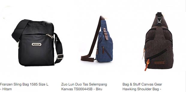 Tas selempang Pria | fashion pria |nchie hanie