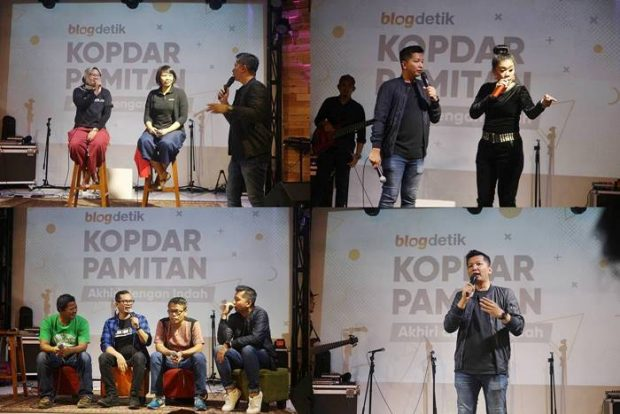 kopdar pamitan blogdetik | dblogger | detik.com | nchie hanie
