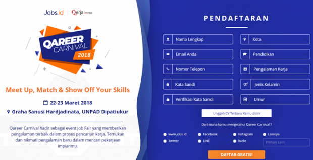 Qareer Carnival Bandung 2018 | Jobs.id | Nchie Hanie |Lifestyle Blogger