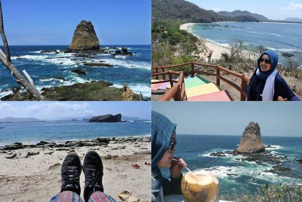 Nchie Hanie | Sibening Dewaseo | Blogger BDG | Blogger Jember Sueger Camp | Destinasi Wisata Jember | Pantai Papuma
