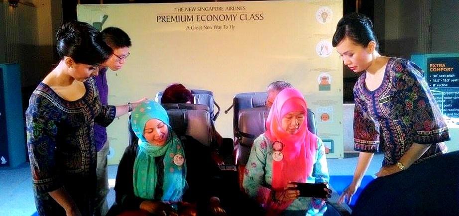 Singapore Airlines | Premium Economy Class Cabin | Emak2 Blogger | Nchie Hanie