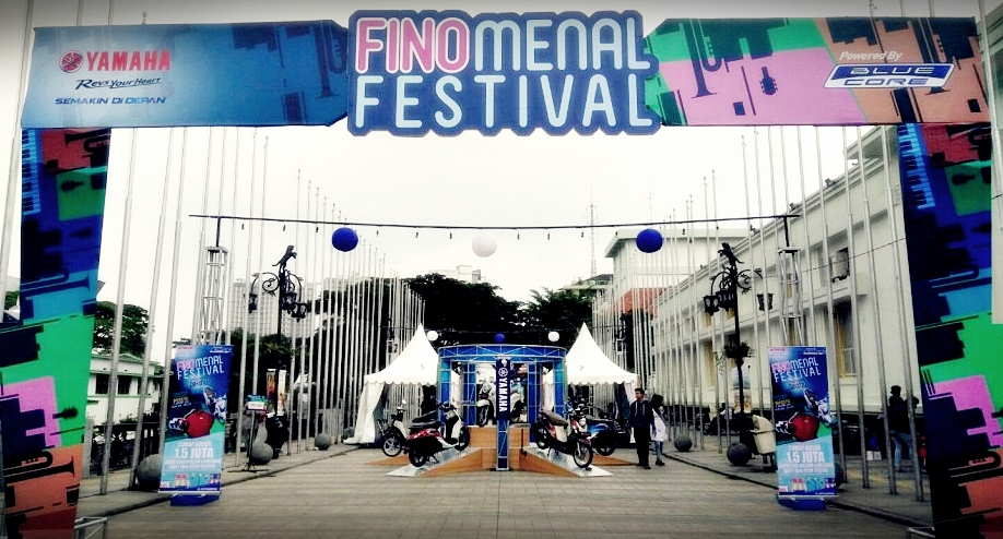 Kahitna|City Touring fino |Yamaha New Fino 125 Blue Core | Launching New Fino 125 | Finomenal Festival