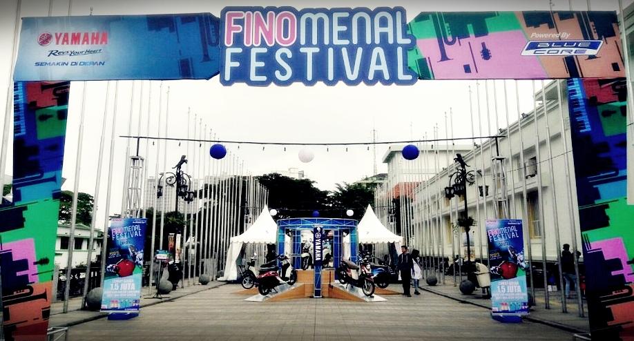 Kahitna|City Touring fino |Yamaha New Fino 125 Blue Core | Launching New Fino 125 | Finomenal Festival