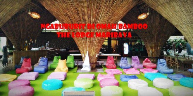 Zip bike |Omah Bamboo | The Lodge Maribaya | tempat camping asyik | Blogger Bandung | nchie Hanie |