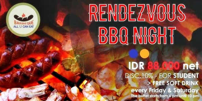 The Rendezvous BBQ Night | Pasar Baru Square Hotel Bandung | DHM Associates | Nchie Hanie | Blogger Bandung
