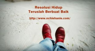 Resolusi Kehidupan | One day one post | indonesian social blogpreuneur | nchie hanie