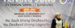 Reuni Perak, Tepang Sono 25 Tahun SMPN 17 Bandung