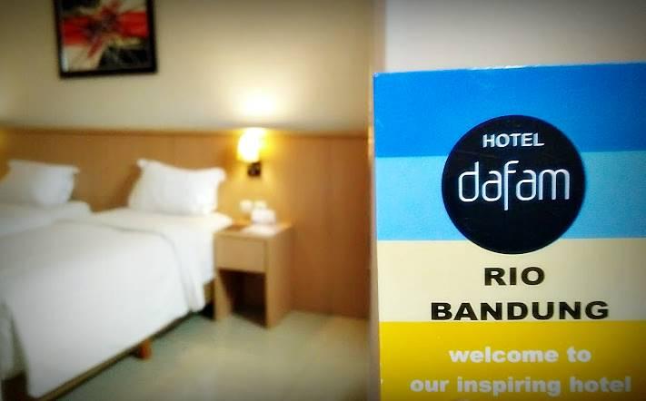 Hotel Murah di Bandung| Dafam Rio Bandung | Nchie Hanie | Lifestyle Blogger