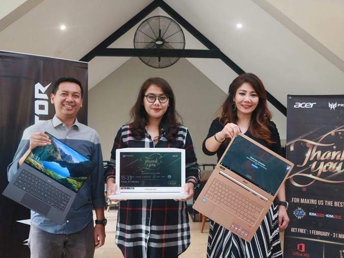 Acer Indonesia | Promo Cashback 10 juta | Terima kasih Pelanggan | nchie hanie