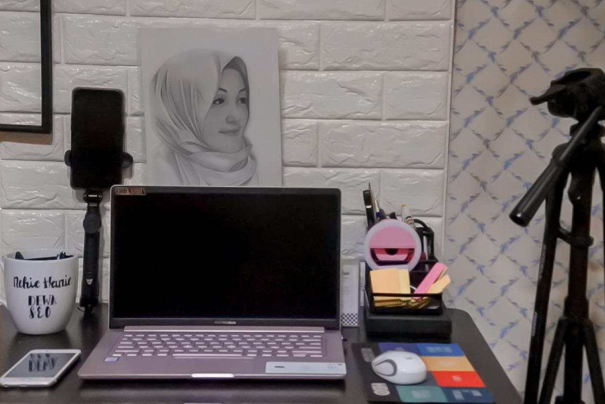Bandung Hijab Blogger | Kolaborasi BHB | nchie hanie | tips produktif di rumah