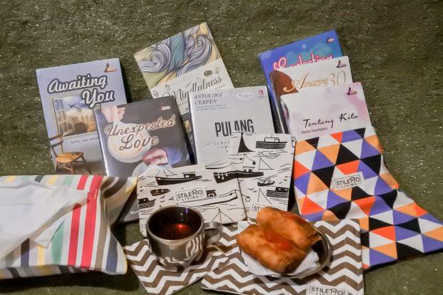 stiletto book | nulis bareng stiletto | nchie hanie | blogger bandung