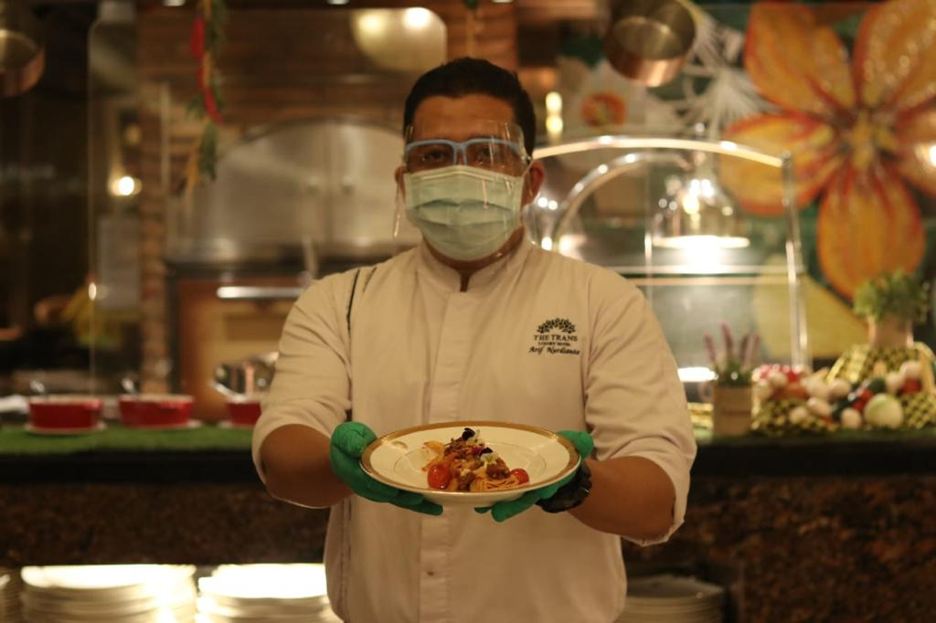 the trans luxury hotel | hotel mewah di bandung | the restaurant | blogger bandung | culinary journey the restaurant