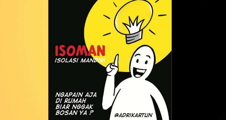 Tips Isoman | Isolasi mandiri | @adrikartun | nchie hanie | Blogger Bandung